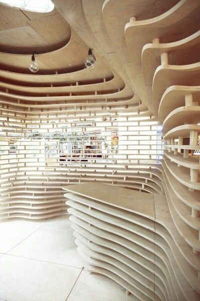 Wood parametric architecture google search arq for Architecture parametrique
