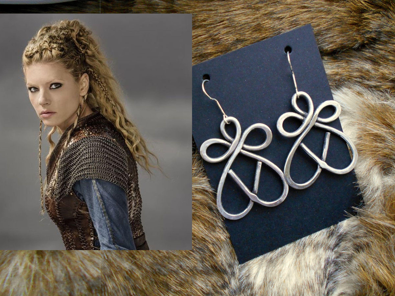 boucle d'oreille viking homme