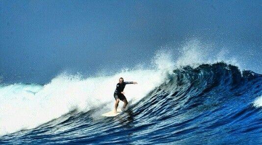 Surfing Photo at G-Land Joyo's Surf Camp, Banyuwangi, Indonesia | Photo by: @barrykusuma