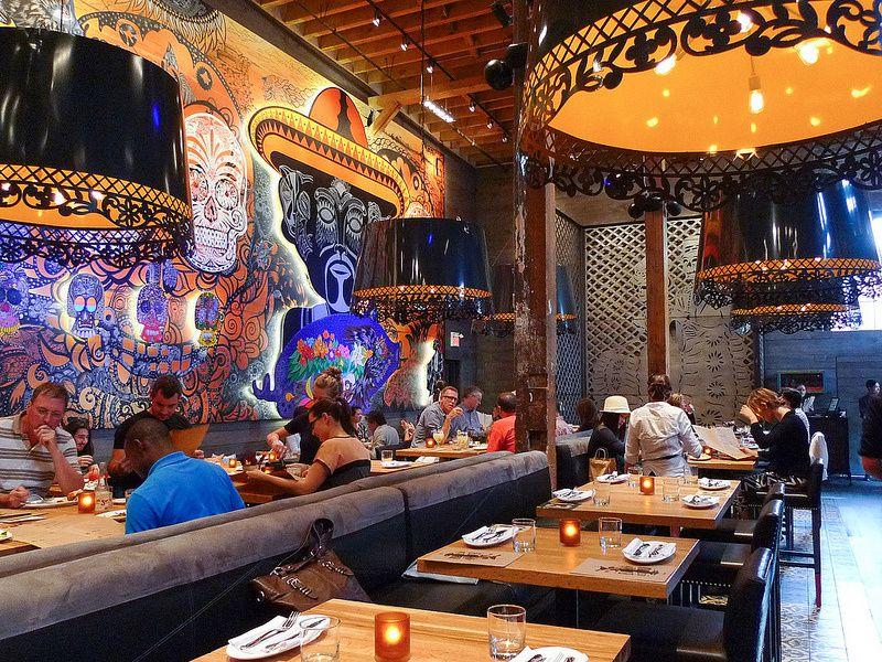 Restaurant Interior Mexicano : El catrin toronto mexican restaurant review distillery