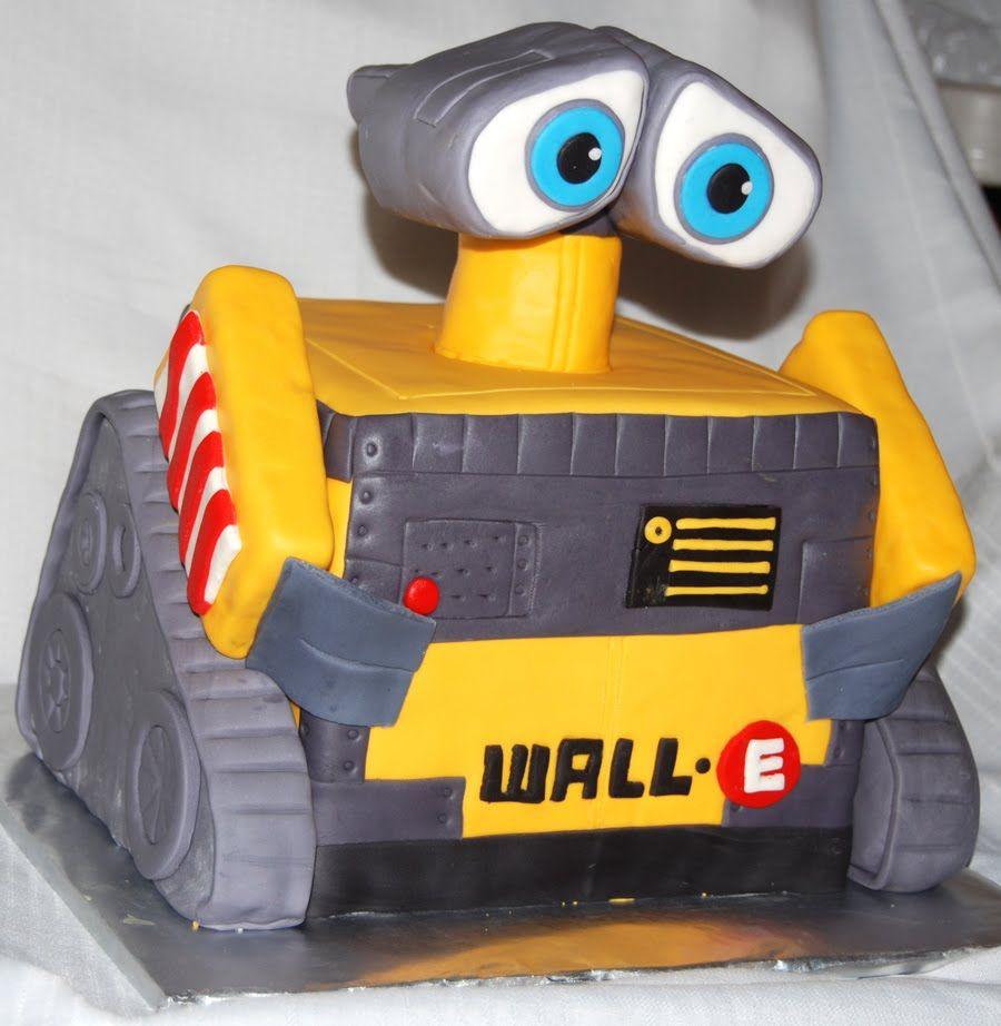 Leelees Cake-abilities: Wall-E Cake | Cakes | Pinterest | Cake ...