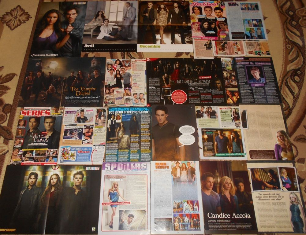 The Vampire Diaries / The Originals Posters Clippings - BIG collection