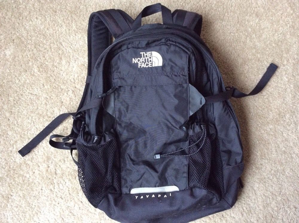 280b5dfeb The North Face Yavapai Black Backpack in Sporting Goods, Outdoor ...