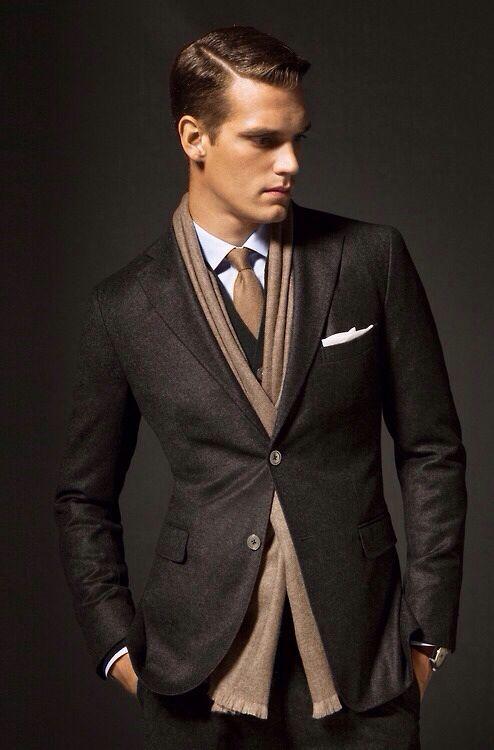 Mens tailored suit