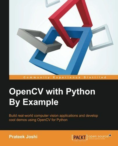 Download free OpenCV with Python By Example by Prateek Joshi