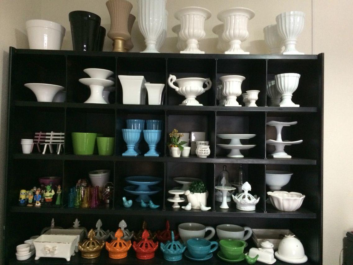 Todas as cores, locação porcelanas