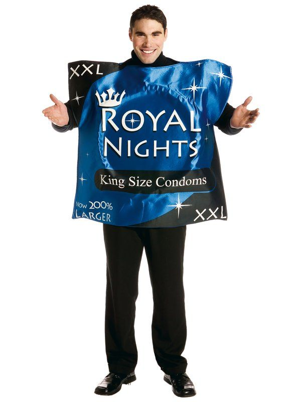 Be Safe On You Stag Night Wearing This Giant Packet Costume Are Sure