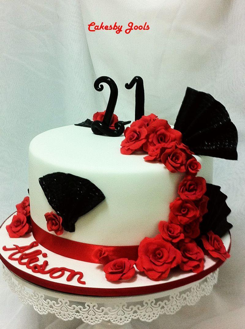 Spanish Theme For A Spanish Rose Happy Birthday Alison