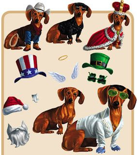 Dachshunds For Your Refrigerator