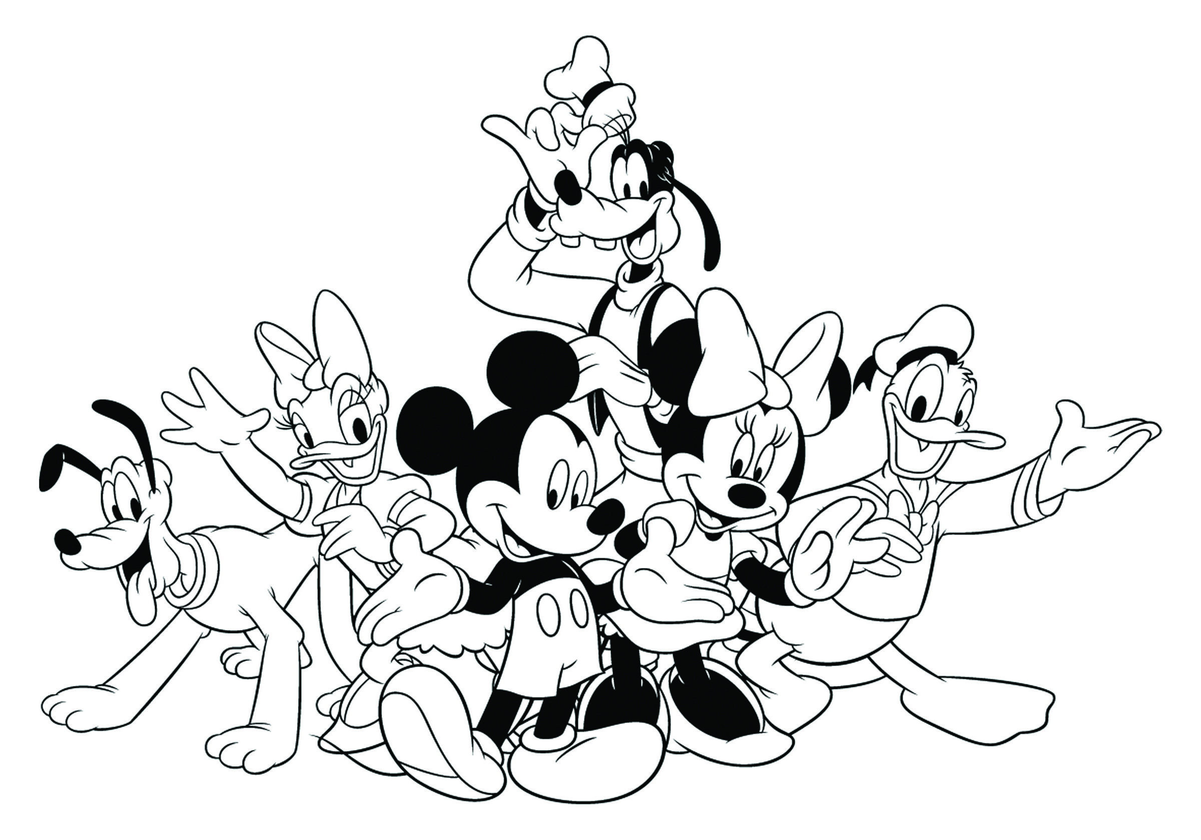 Disney Mickey S Typing Adventure Coloring Page Disney Coloring