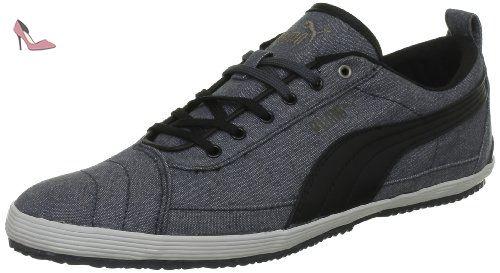 Smash Sd - Sneakers Basses Mixte Adulte - Noir Black White 01-36 EUPuma HfTLtSzsDs