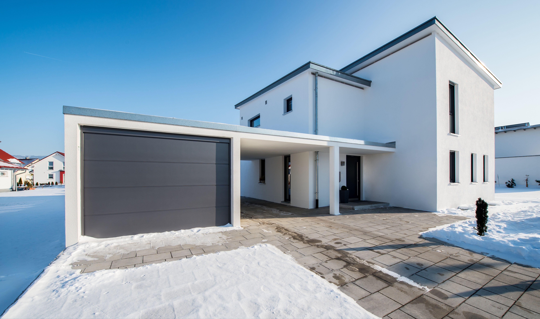 Beton Carport Mit Bildern Fertiggaragen Carport Haus Bauen