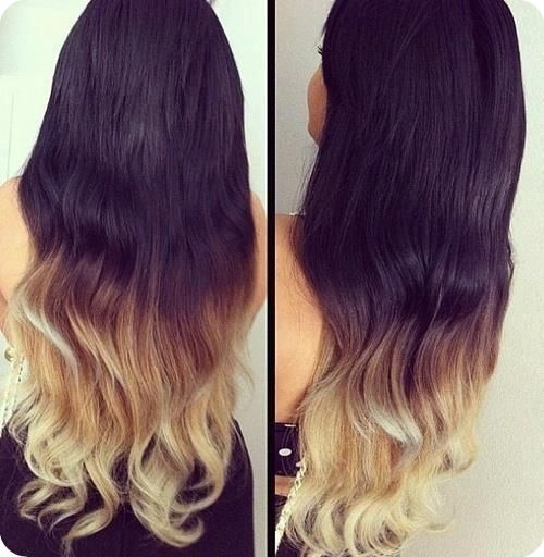 Easy And Best 10 Dip Dye Ombre Color Hair Ideas Without Bleach At Home Dip Dye Hair Hair Blonde Tips