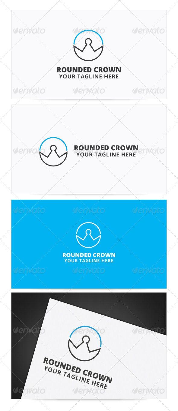 Rounded Crown Logo Symbol Logos Fashion By Shoujendotegd