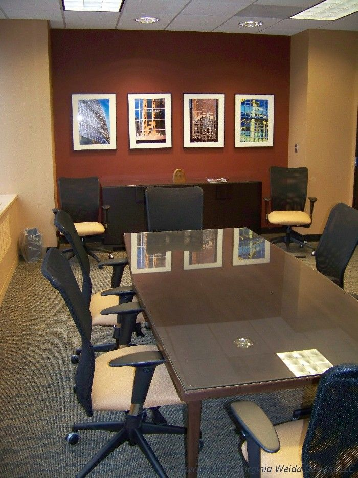 Conference Room Interior Design: Small Office Renovation Law Office Conference Room