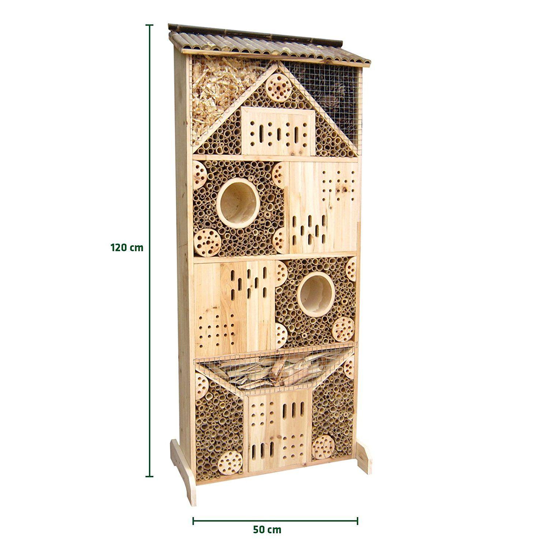 Gardigo Insektenhotel Xxxl 1 20 M Hoch Nistkasten Und Bruthilfe Fur