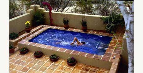 Piscina pequena pesquisa google piscinas pinterest - Piscina prefabricada pequena ...
