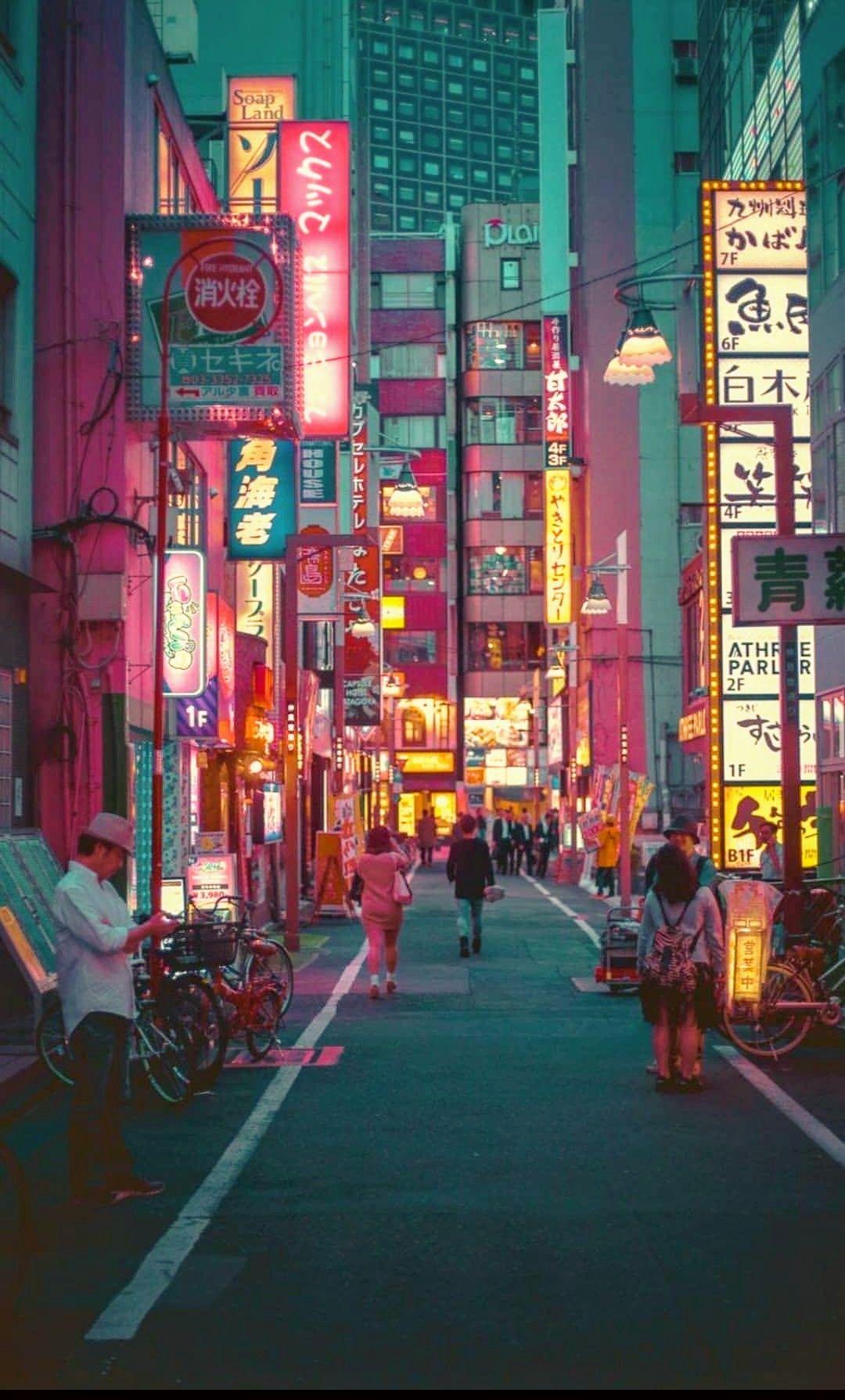 Pin By Valeria Matos On Japón City Aesthetic Anime