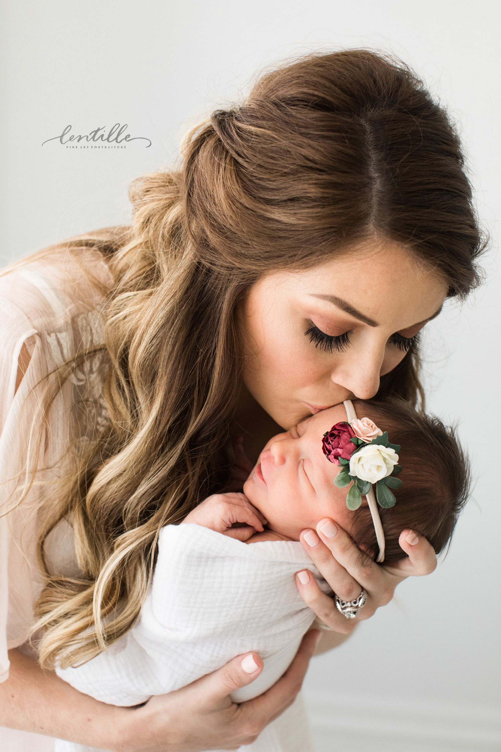 Lentille Photography specializes in Newborn Pictures in the Houston area and als...