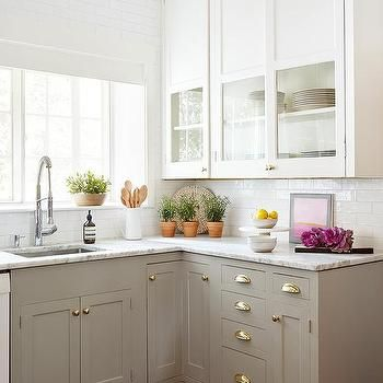 dove gray kitchen cabinets with cup pulls kitchen ideas in 2018 rh pinterest com cup pulls on upper cabinets pictures of cup pulls on cabinets