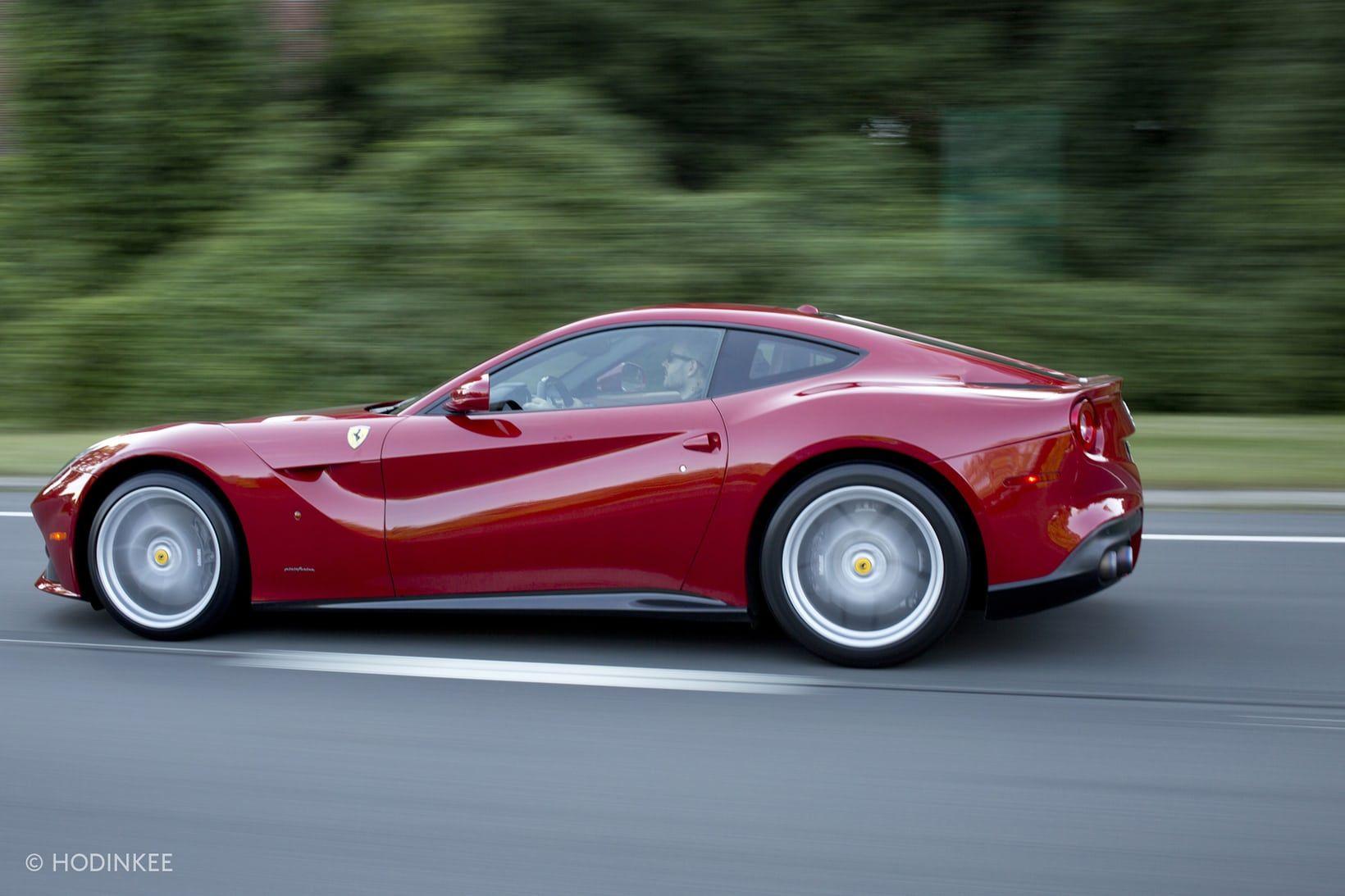 Weekend Report Seventy Two Hours With The 6 3 Liter V12 731 Horsepower 2015 Ferrari F12 Berlinetta Tons Of Photos Hodinkee In 2020 Ferrari F12 Ferrari Seventies