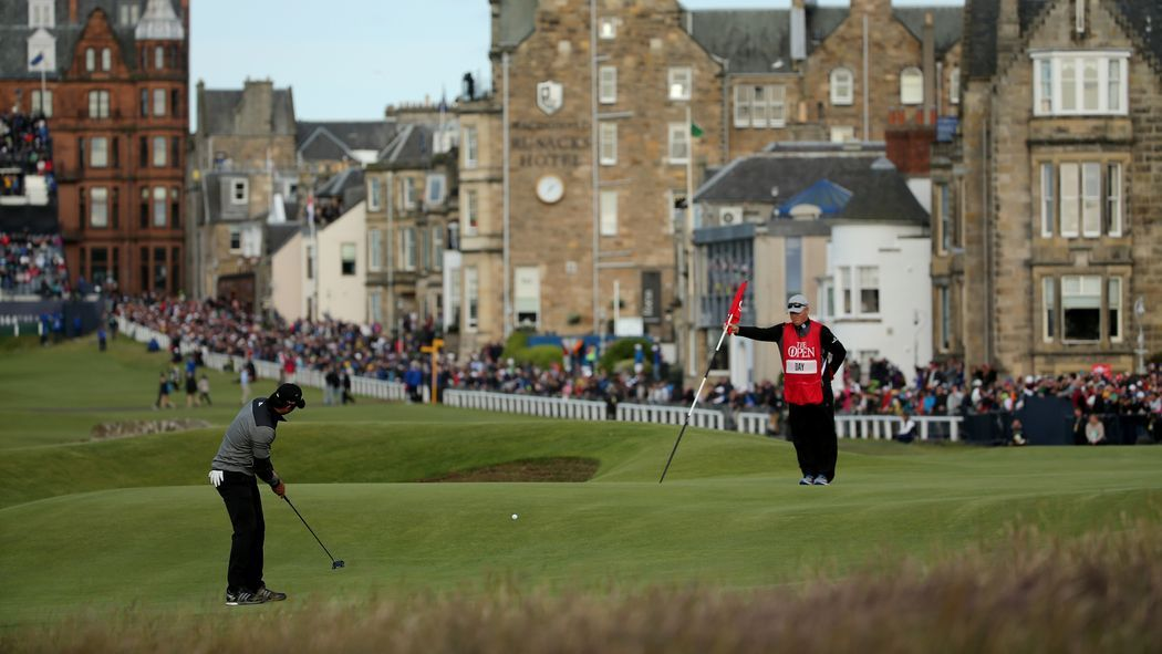 The final round will have to wait until Monday, but it should be an entertaining day on Sunday at St. Andrews.
