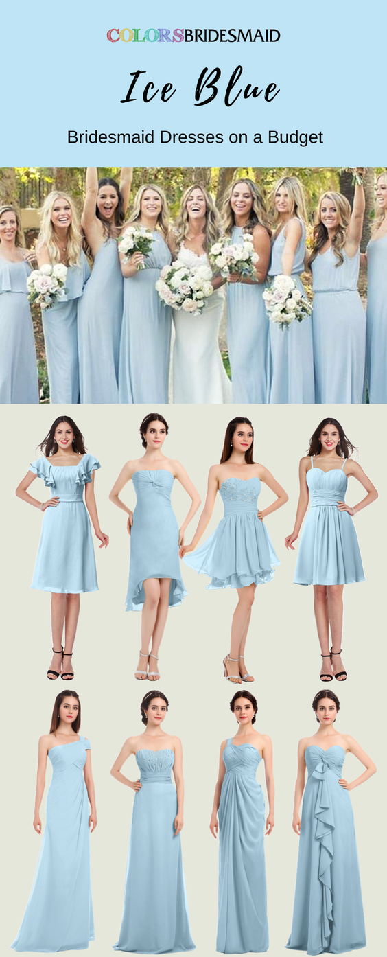 Great Ice Blue Bridesmaid Dresses For You Blue Bridesmaid Dresses Short Ice Blue Bridesmaid Dress Bridesmaid Dresses Long Blue