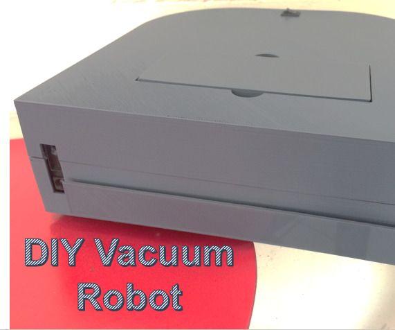 Diy Vacuum Robot Diy Robot Robot Vacuum Cleaning Robot