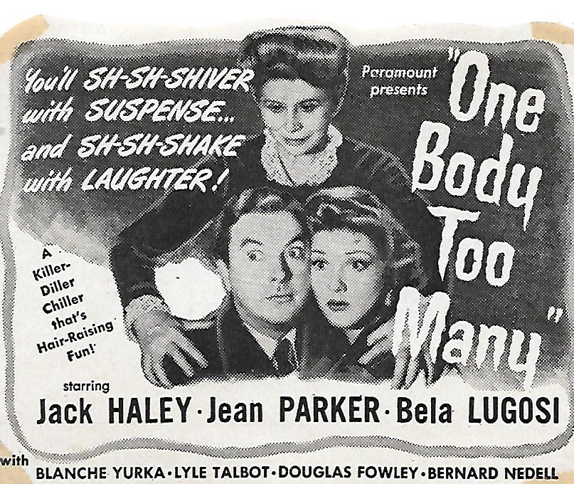 One Body Too Many (1944) in 2020 Bela lugosi, American