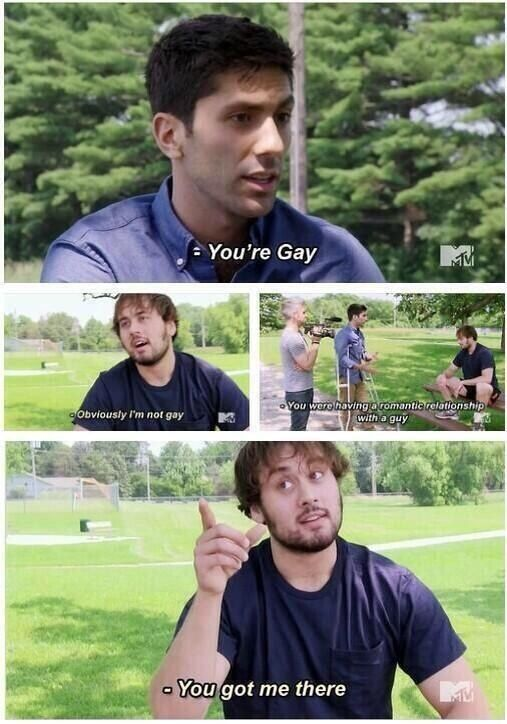 This Revelatory Moment Catfish The Tv Show Catfish Mtv Catfish Tv
