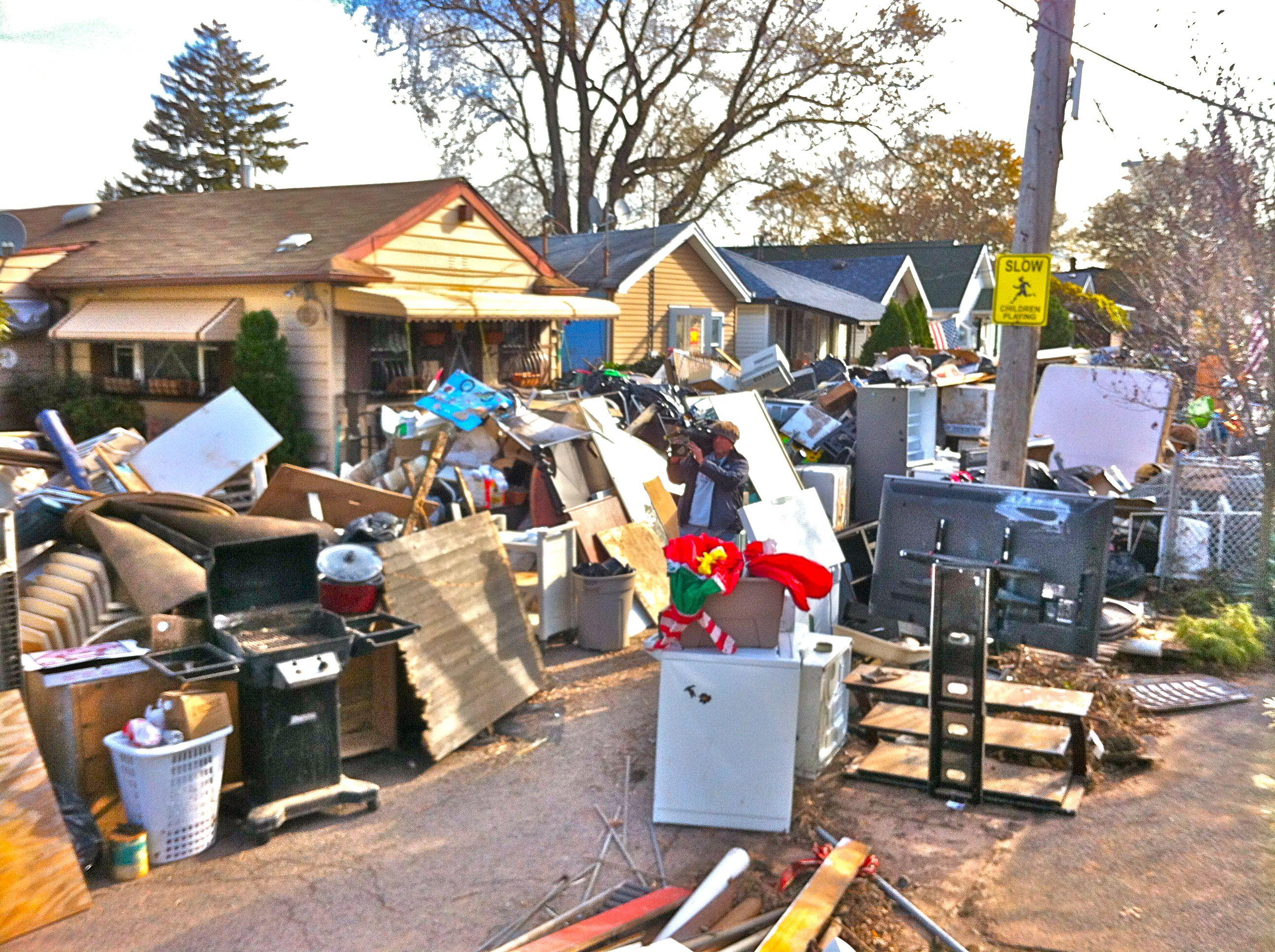 New Dorp Staten Island Hurricane Sandy Devastation Sven Vik Hurricane Sandy Devastation Staten Island