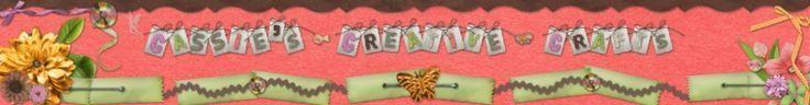 Cassie's Creative Crafts-Ich habe dieses Banner für meinen Etsy-Shop mit dem ...,  #Banne... #kreativehandwerke