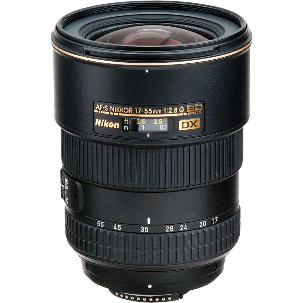 Nikon Af S Dx Zoom Nikkor 17 55mm F 2 8g If Ed Lens Dslr Lenses Nikon Nikon Dslr Camera