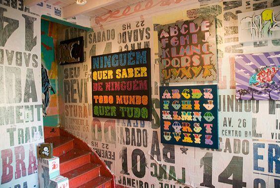 Galeria Choque Cultural é dedicado a arte urbana, em especial a grafitagem.