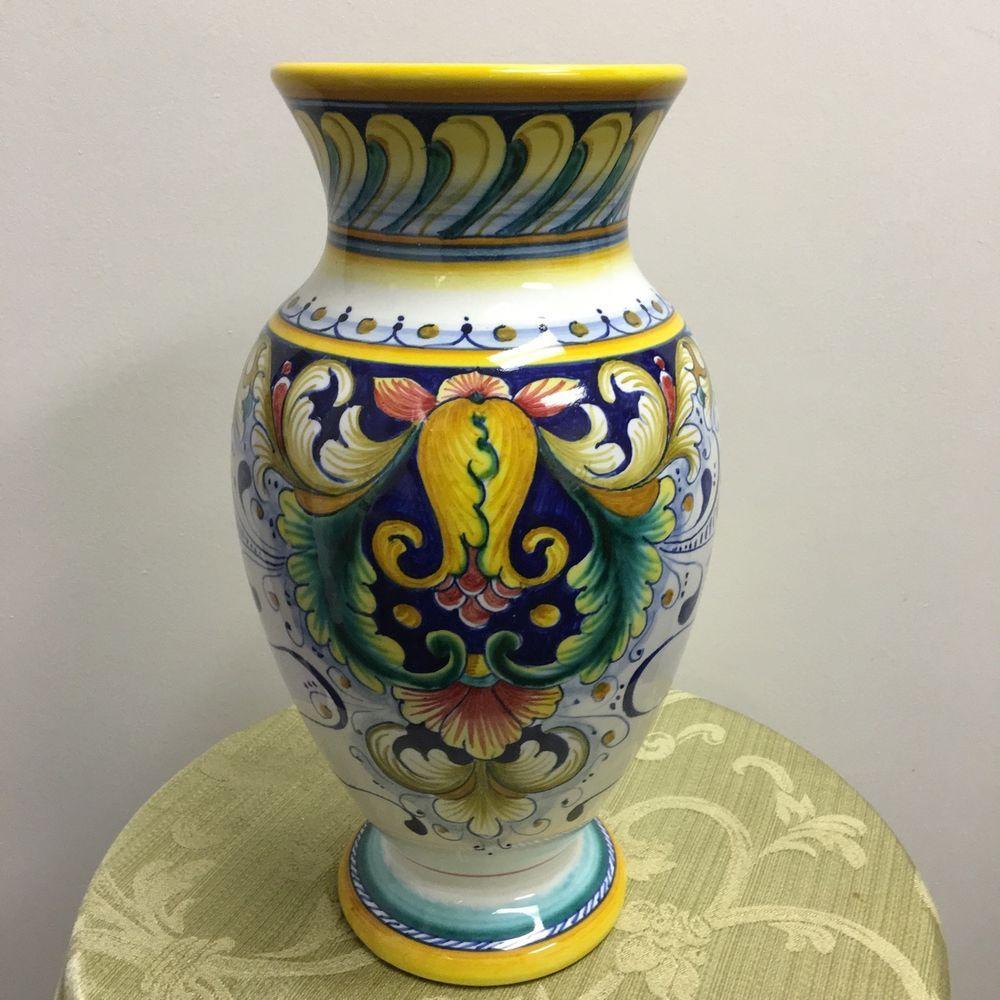 gialletti giulio italian pottery ceramiche artistiche vase italy pinterest. Black Bedroom Furniture Sets. Home Design Ideas