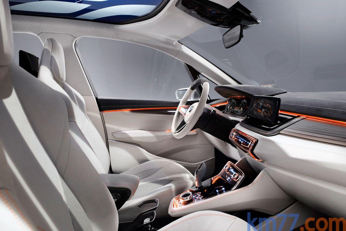 BMW Concept Active Tourer (Inside) | Automotive design | Pinterest ...