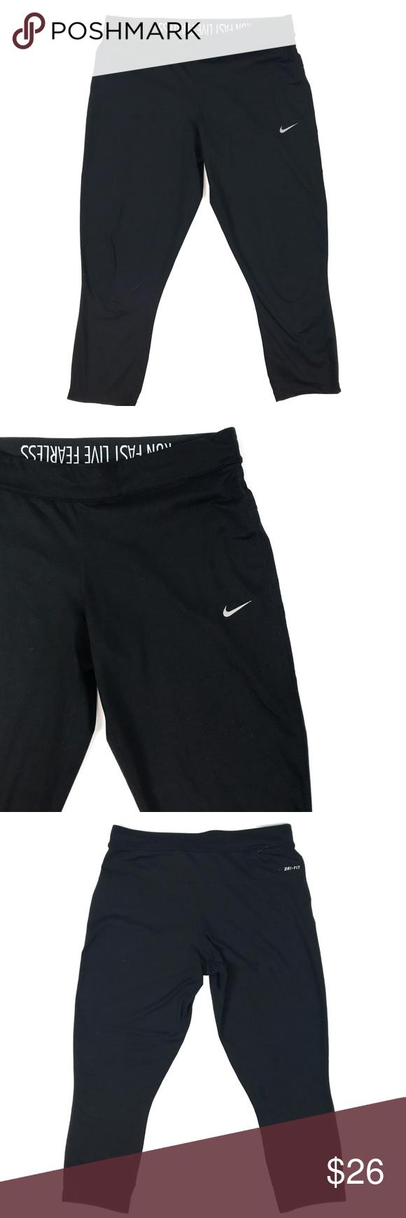 Nike DRI-FIT Cropped Legging | Cropped leggings, Nike dri ...