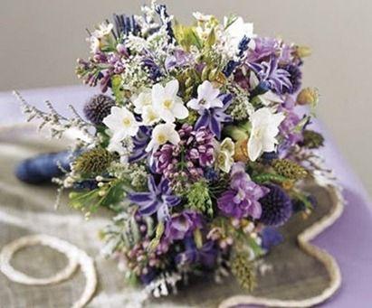 ramos de novia inspirados en flores silvestres - Ramos De Flores Silvestres