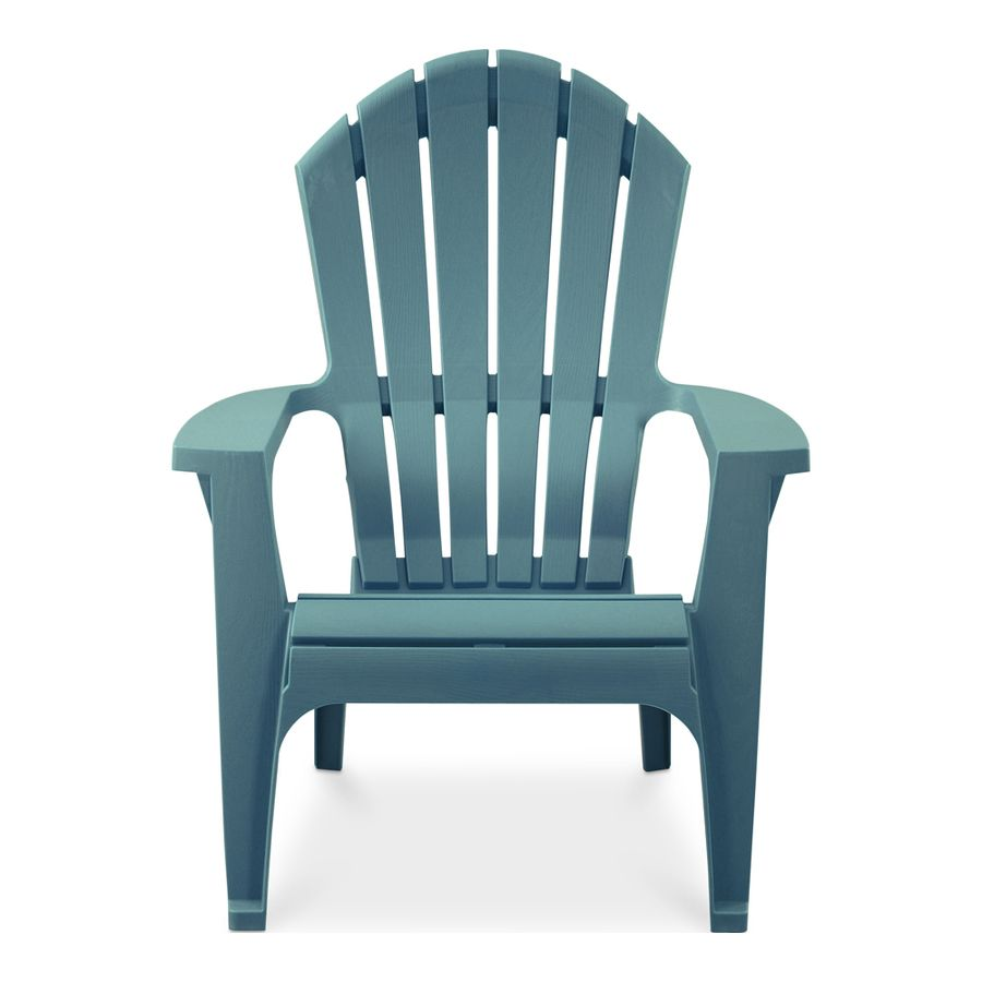 Adams Mfg Corp Stackable Resin Adirondack Chair With Slat Seat At