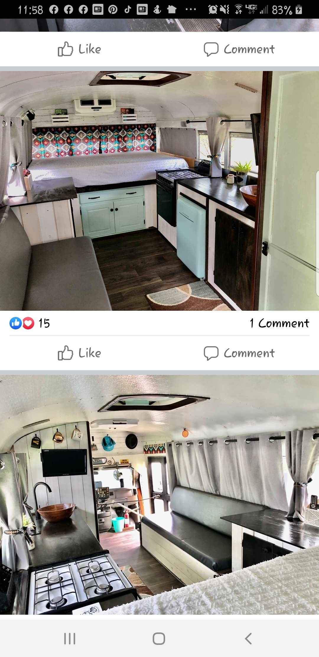 Pin by S Niles on RV renovation in 2020 | Kitchen cabinets ...