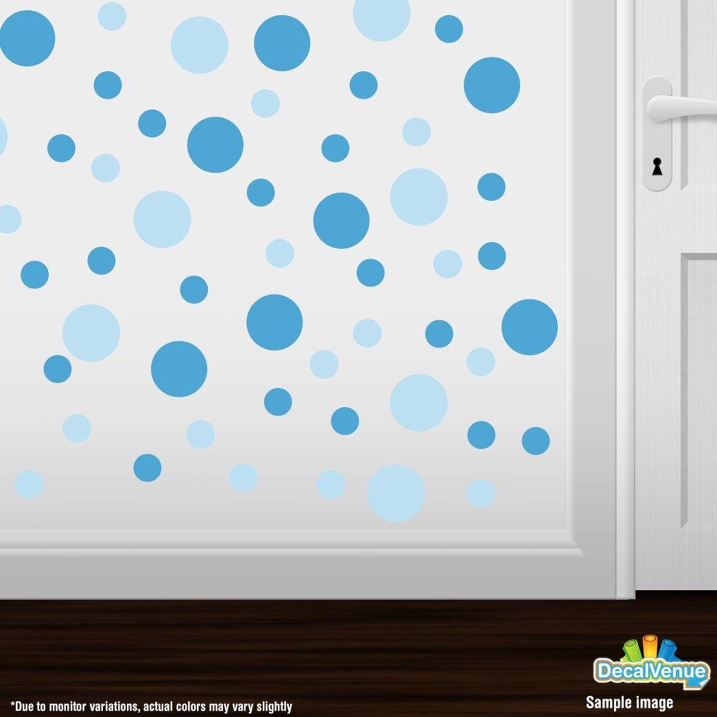 baby blue ice blue polka dot circles wall decals blue polka baby blue ice blue polka dot circles wall decals decals stickers decalvenue