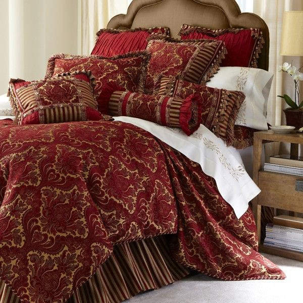 Red Bedding Comforters Duvet Covers Bedspreads Quilts Bed In A Bag Sets Luxury Bedding Bed Linens Luxury Luxury Bedding Sets