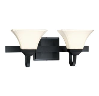 Photo of Minka Lavery 6812-66 Black 2 Light bathroom furniture from the Agilis collection