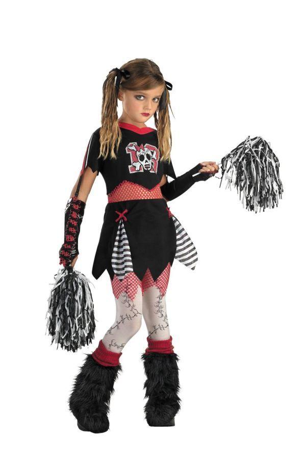 Ladies High School Cheerleader Pom Fancy Dress Costume large size uk 18-20