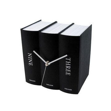 Books desck clock.