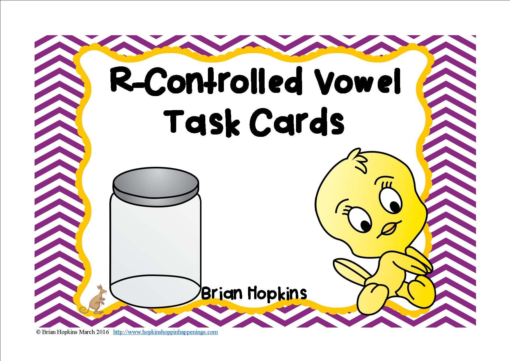 R Controlled Vowels Task Cards