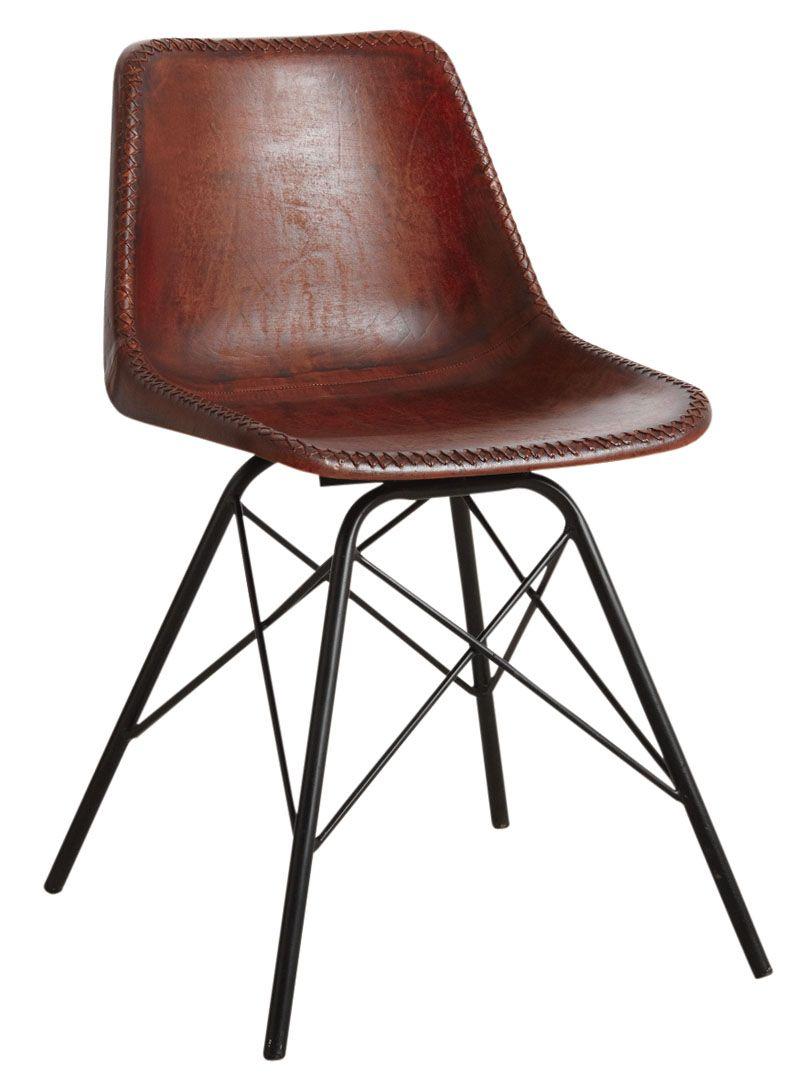 Chaise Design Pour Salle A Manger Chaise Cuir Marron Chaise