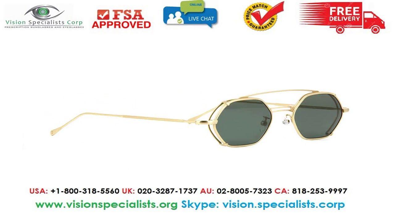 7bc4da56ef Illesteva Lola Matte Gold With Olive Lenses Sunglasses