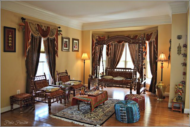 traditional interior design ideas indian style bedroom