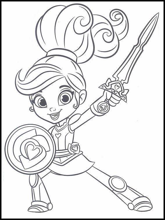 Nella Una Princesa Valiente 11 Dibujos Faciles Para Dibujar Para